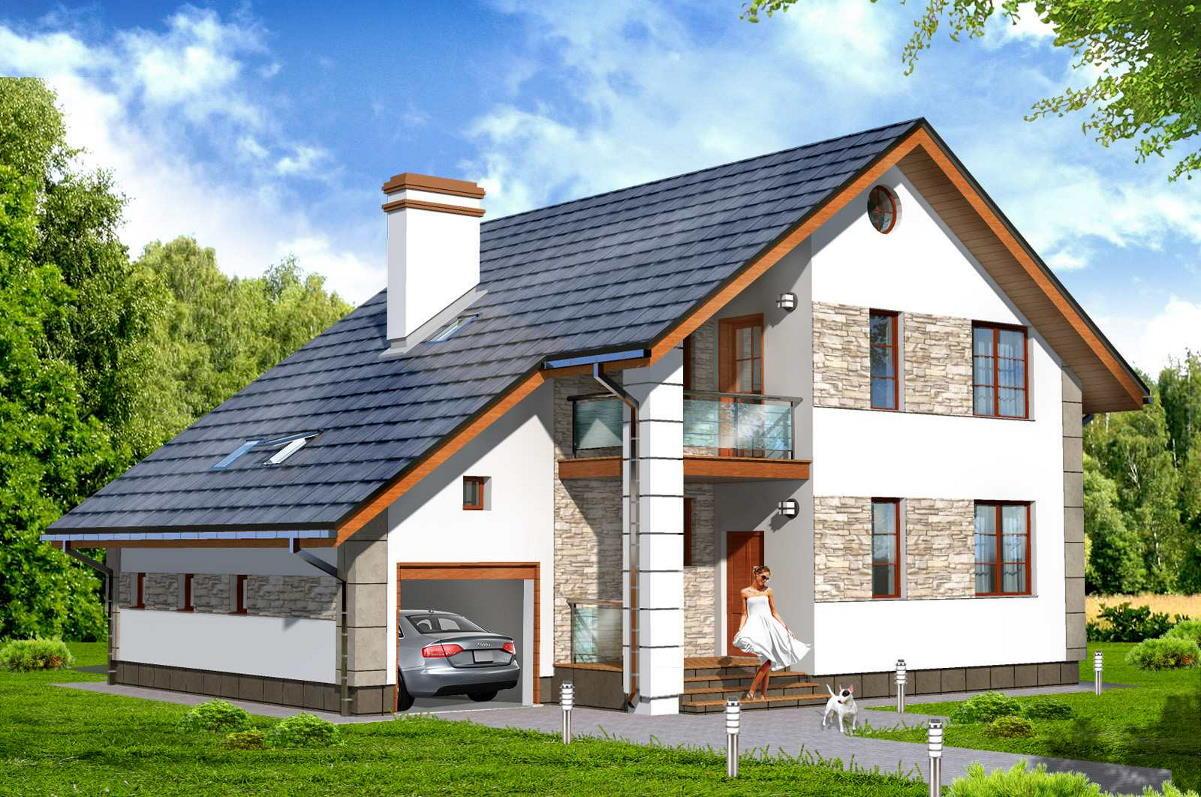 Проекты домов с гаражом 150 проверенных проектов.