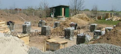 Каркасный дом своими руками столбчатом фундаменте